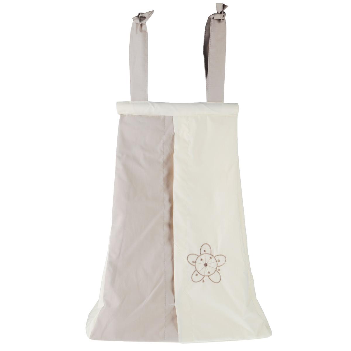 """Fairy (ВПК) Сумка для пеленок и подгузников Fairy """"Волшебная полянка"""", цвет: бежевый, 50 см х 40 см 1017.14"""