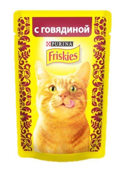 Консервы для кошек Friskies, с говядиной, 85 г12261826Консервы для кошек Friskies приготовлены из тщательно отобранных ингредиентов для того, чтобы ваша кошка получала только лучшее. Консервы содержат качественный белок, витамины, минералы и другие вкусные и полезные компоненты. Такой корм является полнорационным и сбалансированным питанием на каждый день. Корм Friskies специально приготовлен, чтобы обеспечивать вашу кошку основными питательными веществами для поддержания ее здоровья и счастья каждый день. Состав: мясо и продукты переработки мяса (из которых говядины 4%), злаки, минеральные вещества, сахара, витамины. Пищевая ценность: влага 84%, белок 6,5%, жир 2,5%, сырая зола 2%, сырая клетчатка 0,1%, линолевая кислота (омега 6 жирные кислоты) 0,4%. Добавки: витамин А 620 МЕ/кг, витамин D3 90 МЕ/кг, железо 7,2 мг/кг, йод 0,18 мг/кг, медь 0,6 мг/кг, марганец 1,4 мг/кг, цинк 13 мг/кг, таурин 390 мг/кг. Товар сертифицирован.