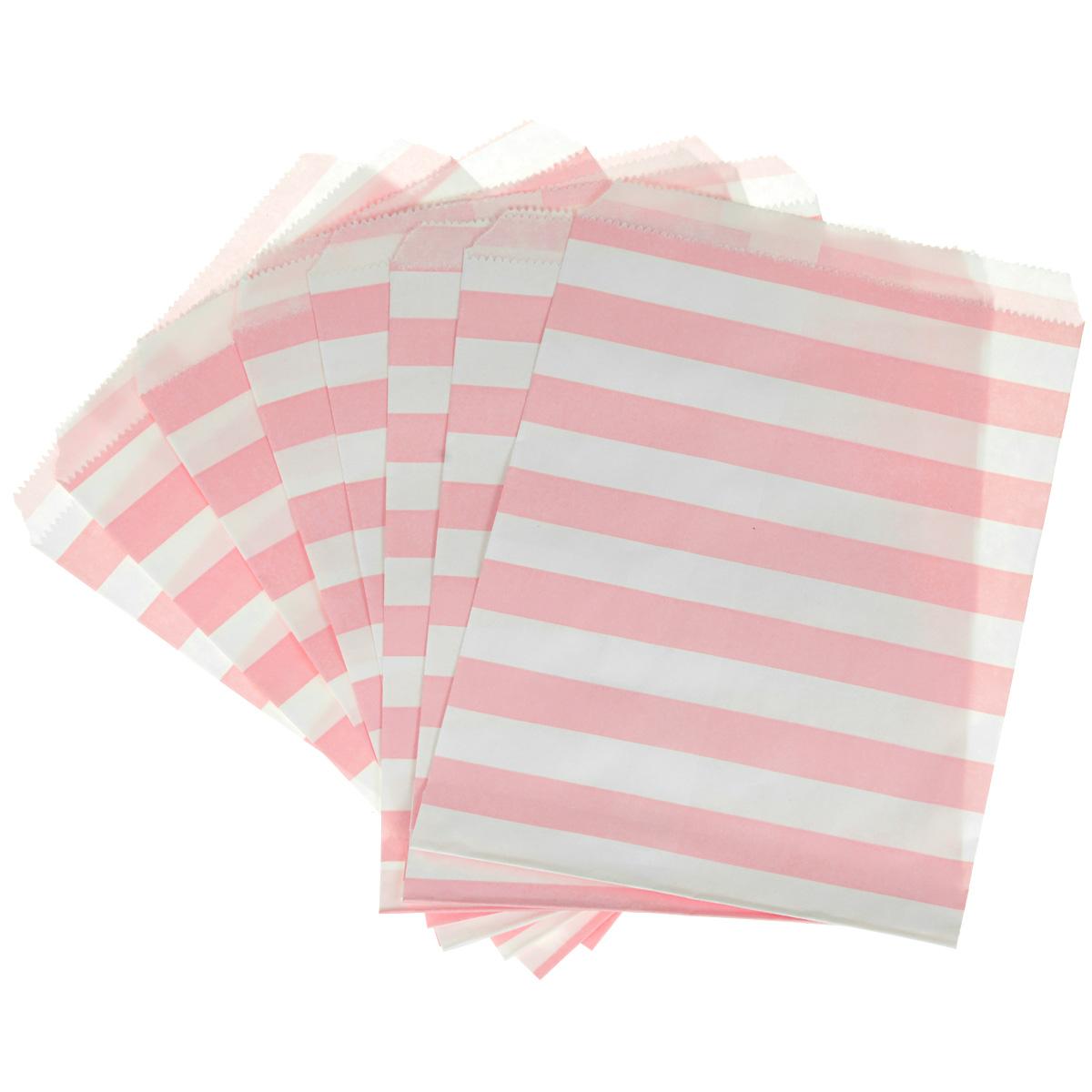 Пакеты бумажные Dolce Arti Stripes, для выпечки, цвет: розовый, 10 штDA040220Бумажные пакеты Dolce Arti Stripes очень многофункциональны. Их можно использовать насколько хватит вашей фантазии: для выпекания, для упаковки маленьких подарков, сладостей и многого другого. Размер пакета: 13 см х 18 см.
