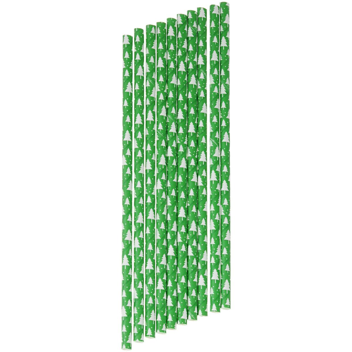 Набор бумажных трубочек Dolce Arti Лесной мотив, цвет: зеленый, 10 штDA040258Набор Dolce Arti Лесной мотив состоит из 10 бумажных трубочек, предназначенных для напитков. Цветные трубочки станут не только эффектным украшением коктейлей, но и ярким штрихом вашего сладкого стола. С набором Dolce Arti Лесной мотив ваш праздник станет по-настоящему красочным! Длина трубочки: 19,5 см. Диаметр трубочки: 5 мм.