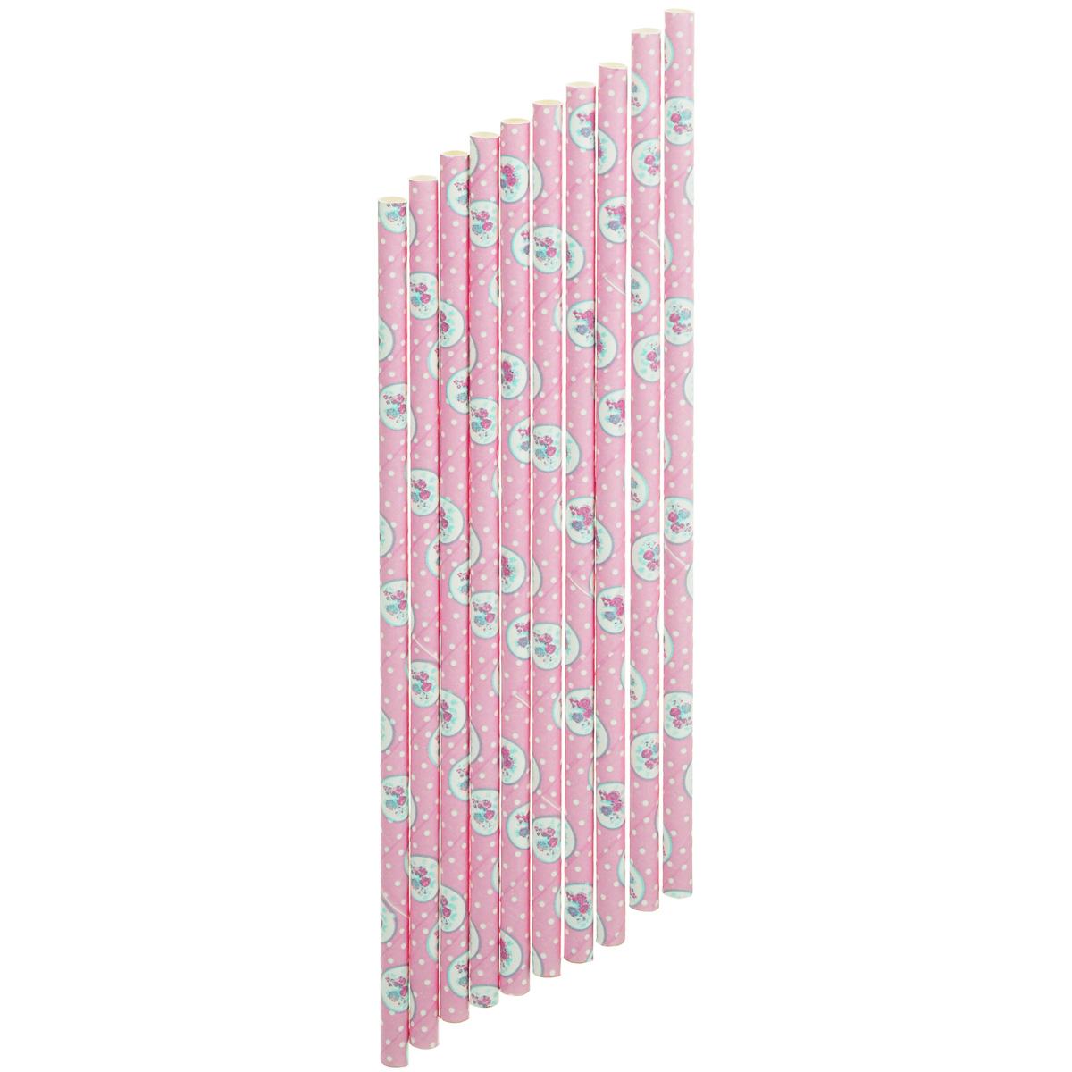 Набор бумажных трубочек Dolce Arti Розовый ветер, 10 штDA040223Набор Dolce Arti Розовый ветер состоит из 10 бумажных трубочек, предназначенных для напитков. Цветные трубочки станут не только эффектным украшением коктейлей, но и ярким штрихом вашего сладкого стола. С набором Dolce Arti Розовый ветер ваш праздник станет по-настоящему красочным! Длина трубочки: 19,5 см. Диаметр трубочки: 5 мм.