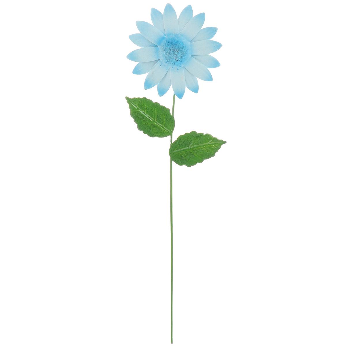 Украшение на ножке Village People Астры, цвет: голубой, высота 28,5 см67162_3Украшение на ножке Village People Астры предназначено для декорирования садового участка, грядок, клумб, цветочных кашпо, а также для поддержки и правильного роста растений. Изделие в ярком симпатичном дизайне выполнено из прочного и надежного металла, легко устанавливается в землю. Оно украсит ваш сад и добавит ярких красок.