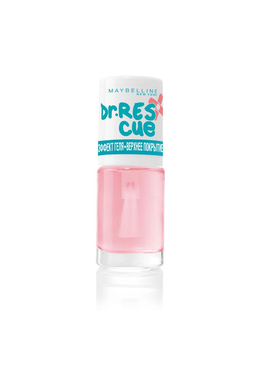Maybelline New York Уход за ногтями DR. RESCUE Эффект геля - Верхнее покрытие, глянцевое покрытие, 7 млB2528100Верхнее гелевое покрытие для зеркального блеска твоих ногтей.
