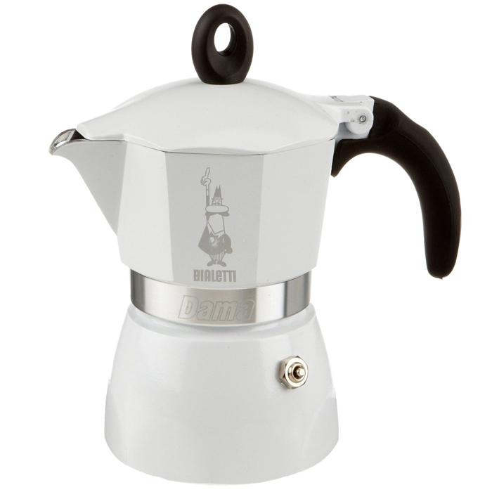 Гейзерная кофеварка Dama Bianca Lucida, 3порции3142Гейзерная кофеварка Dama Bianca Lucida, 3порции