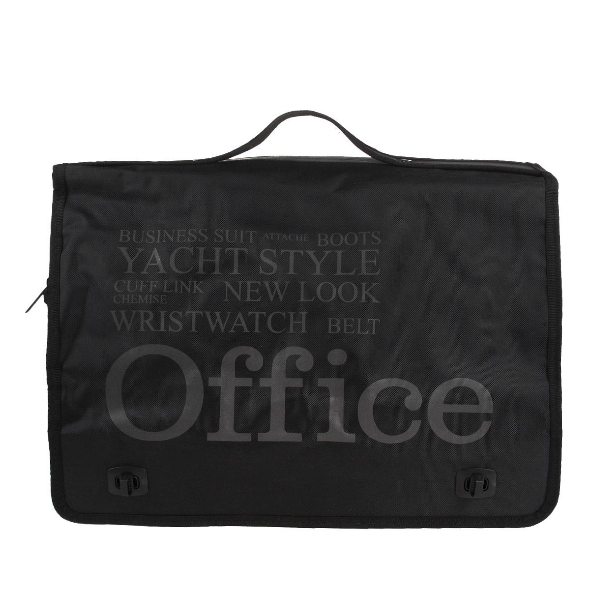 """Сумка молодежная Antan """"Office"""", цвет: черный. 3-10 3-10 office полиэстер/черный"""