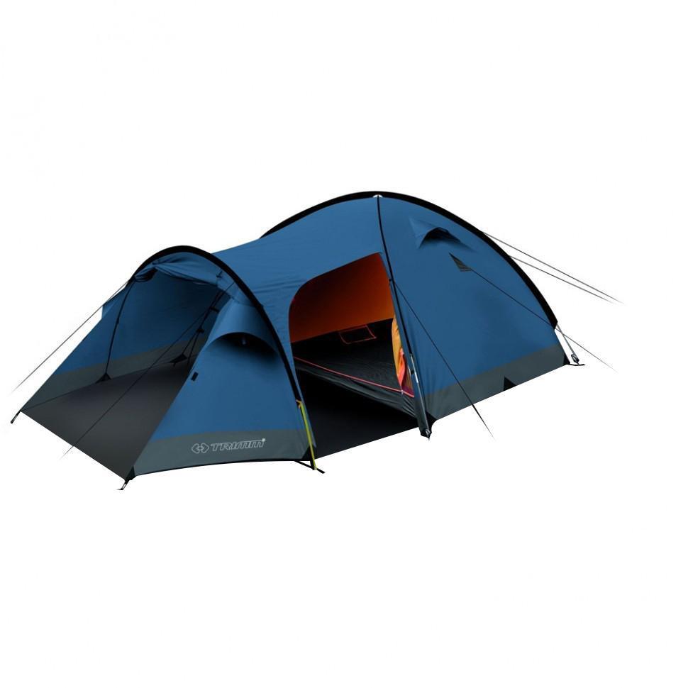 Палатка четырехместная Trimm CAMP II 4, цвет: синий