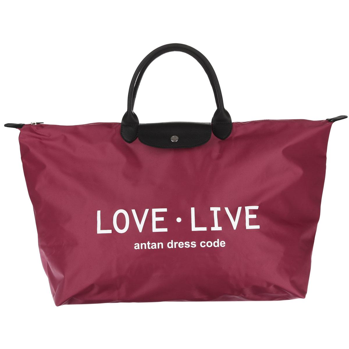 """Сумка женская Antan """"Жизнь-любовь"""", цвет: красный. 175 175 Жизнь-любовь/красный"""