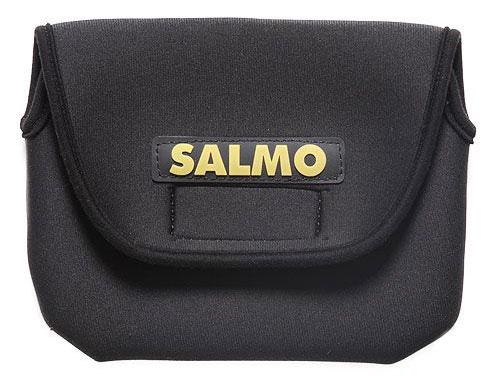 Чехол для катушек Salmo, цвет: черный, 23 см х 14 см3528Чехол Salmo предназначен для переноски и хранения рыболовных катушек. Выполнен из прочного эластичного нейлона. Чехол застегивается на липучку. Под размеры катушек 30-40.