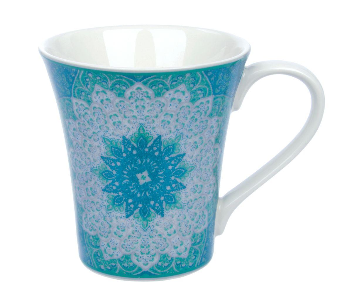 Кружка Kashan Green, 330 млUTKB18701Кружка Kashan Green изготовлена из высококачественной керамики. Внешние стенки изделия оформлены красочным цветочным рисунком. Такая кружка прекрасно подойдет для горячих и холодных напитков. Она дополнит коллекцию вашей кухонной посуды и будет служить долгие годы. Можно использовать в посудомоечной машине и СВЧ. Объем кружки: 330 мл. Диаметр кружки (по верхнему краю): 9,5 см. Высота стенки кружки: 10,5 см.