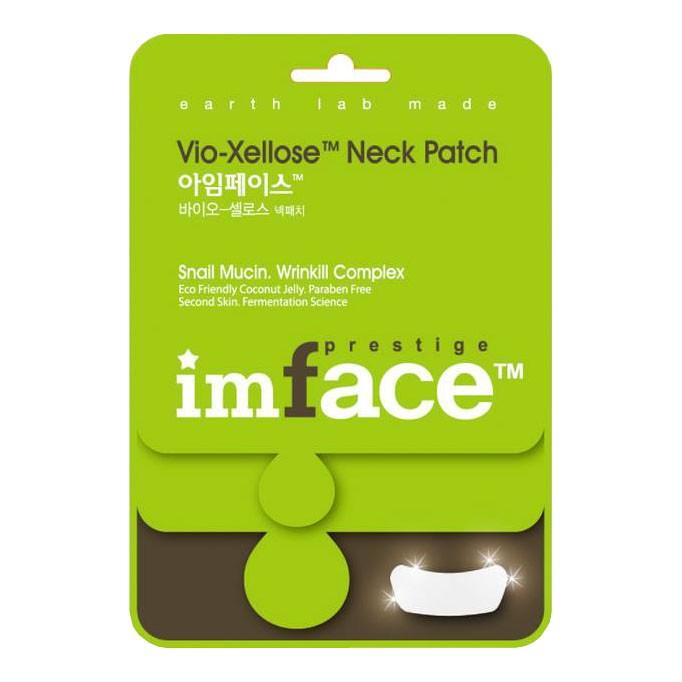 IMFACE Маска пластырь для шеи Vio-Xellose Neck Patch10 млБ33041Антивозрастной уход, разглаживание морщин, питание, придание упругости и эластичности коже.