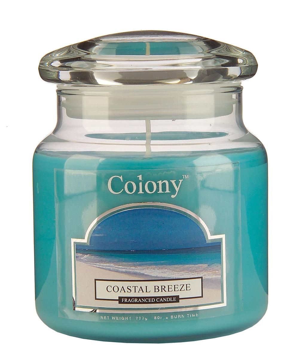 Wax Lyrical Морской бриз ароматизированная свеча в стекле средняя, 90 часовCH0767Свежий шипрово-цветочный аромат с инжирными оттенками