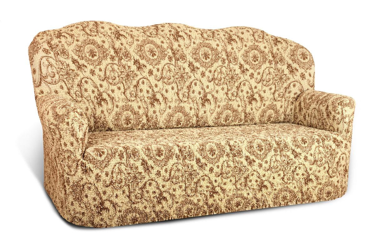 Чехол на 3-х местный диван Еврочехол Виста, 160-240 см. 6/39-36/39-3Чехол на 3-х местный диван Еврочехол Виста выполнен из 50% хлопка, 50% полиэстера. Он идеально подойдет для тех, кто хочет защитить свою мебель от постоянных воздействий. Этот чехол, благодаря прочности ткани, станет идеальным решением для владельцев домашних животных. Кроме того, состав ткани гипоаллергенен, а потому безопасен для малышей или людей пожилого возраста. Такой чехол отлично впишется в любой интерьер. Еврочехол послужит не только практичной защитой для вашей мебели, но и приятно удивит вас мягкостью ткани и итальянским качеством производства. Растяжимость чехла по спинке (без учета подлокотников): 160-240 см.