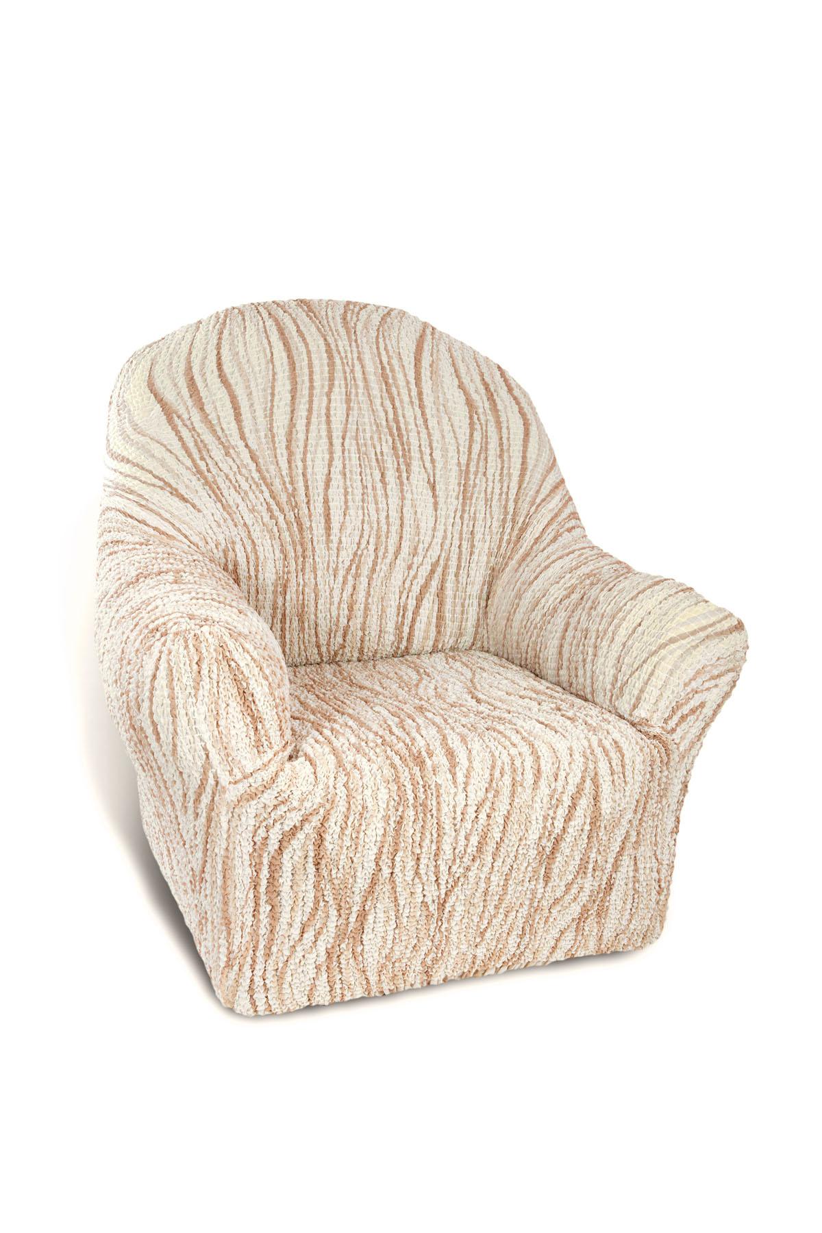 Чехол на кресло Еврочехол Виста, 60-100 см. 6/43-16/43-1Чехол на кресло Еврочехол Виста выполнен из 50% хлопка, 50% полиэстера. Он идеально подойдет для тех, кто хочет защитить свою мебель от постоянных воздействий. Этот чехол, благодаря прочности ткани, станет идеальным решением для владельцев домашних животных. Кроме того, состав ткани гипоаллергенен, а потому безопасен для малышей или людей пожилого возраста. Такой чехол отлично впишется в любой интерьер. Еврочехол послужит не только практичной защитой для вашей мебели, но и приятно удивит вас мягкостью ткани и итальянским качеством производства. Растяжимость чехла по спинке (без учета подлокотников): 60-100 см.