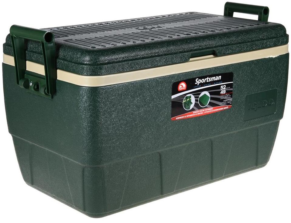"""Изотермический контейнер Igloo """"Sportsman"""", цвет: зеленый, 49 л 44364"""