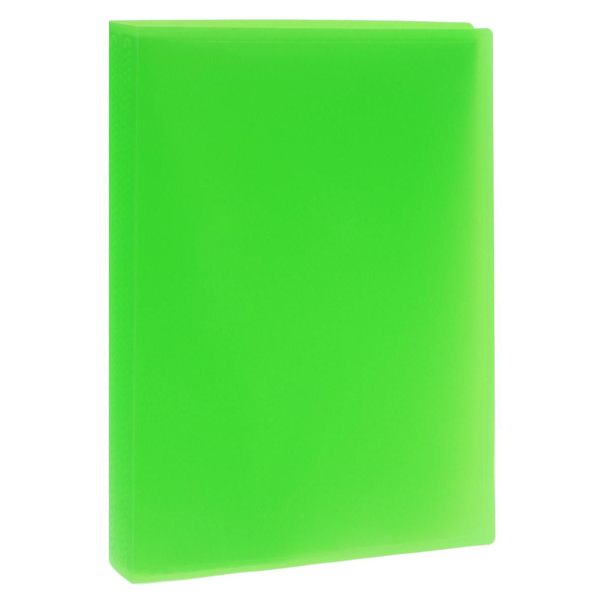 Папка с файлами Erich Krause, 40 листов, формат А4, цвет: зеленыйFS-36054Папка Erich Krause с 40 прозрачными файлами-вкладышами идеально подходит для хранения рабочих бумаг и документов формата А4 без перфорации, требующих упорядоченности и наглядного обзора: отчетов, презентаций, коммерческих и персональных портфолио.Папка выполнена из полупрозрачного жесткого пластика с гофрированной поверхностью в ярких цветовых решениях. Благодаря совершенной технологии производства папка не подвергается воздействию низкой температуры, не деформируется и не ломается при изгибе и транспортировке.