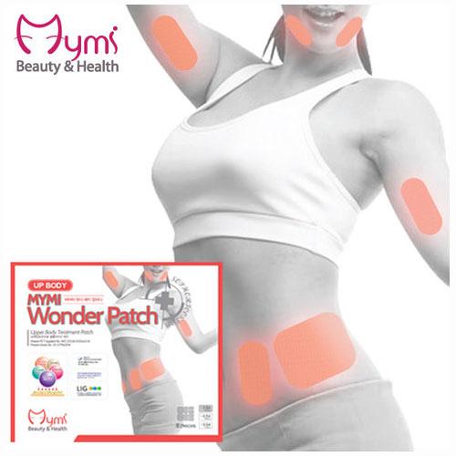 MYMI Wonder Patch Upbody Патчи для похудения верхней части тела 3 шт.85252Пластырь для похудения в области талии и верхних частей тела Mymi Wonder Patch Up Body является уникальным средством для поддержания красивой и стройной фигуры. Он изготовлен по рецептам древней китайской медицины. Пластырь рекомендуют применять при ожирении и лишнем весе. Он способствует улучшению работы желудочно-кишечного тракта и кишечника.Содержит в своем составе большой набор натуральных лекарственных растений, которые быстро проникают в подкожный слой, активируют обменные процессы, усиливают кровообращение, выводят токсины и излишки влаги, сжигают жир, улучшают эластичность кожного покрова, подтягивают живот. Активные компоненты, входящие в состав пластыря, восстанавливают функции лимфатической и эндокринной систем. Пластырь для похудения Mymi Wonder Patch не обладает побочными эффектами.