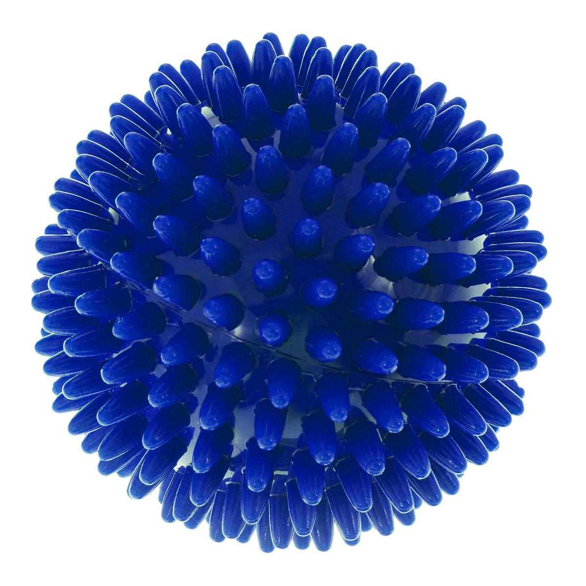 Игрушка для собак V.I.Pet Массажный мяч, цвет: синий, диаметр 6 смBL11-015-60Игрушка для собак V.I.Pet Массажный мяч, изготовленная из ПВХ, предназначена для массажа и самомассажа рефлексогенных зон. Она имеет мягкие закругленные массажные шипы, эффективно массирующие и не травмирующие кожу. Игрушка не позволит скучать вашему питомцу ни дома, ни на улице. Диаметр: 6 см.
