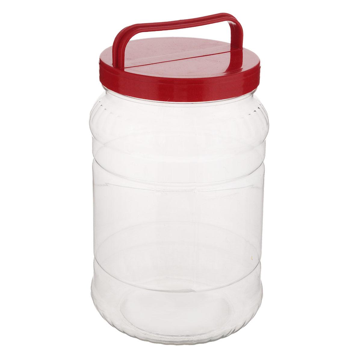 Бидон Альтернатива, цвет: прозрачный, красный, 2 лМ461_красныйБидон Альтернатива предназначен для хранения и переноски пищевых продуктов, таких как молоко, вода и прочее. Выполнен из пищевого высококачественного пластика. Оснащен ручкой для удобной переноски. Бидон Альтернатива станет незаменимым аксессуаром на вашей кухне. Высота бидона (без учета крышки): 20,5 см. Диаметр: 10,5 см.