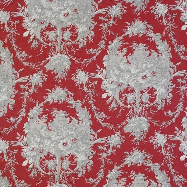 Ткань Melanie rouge, ширина 110см, в упаковке 1м, 100% хлопок, коллекция Les rouges et roses /Изысканно-красный/. BME.RYBME.RYТкань Melanie rouge, ширина 110см, в упаковке 1м, 100% хлопок, коллекция Les rouges et roses /Изысканно-красный/