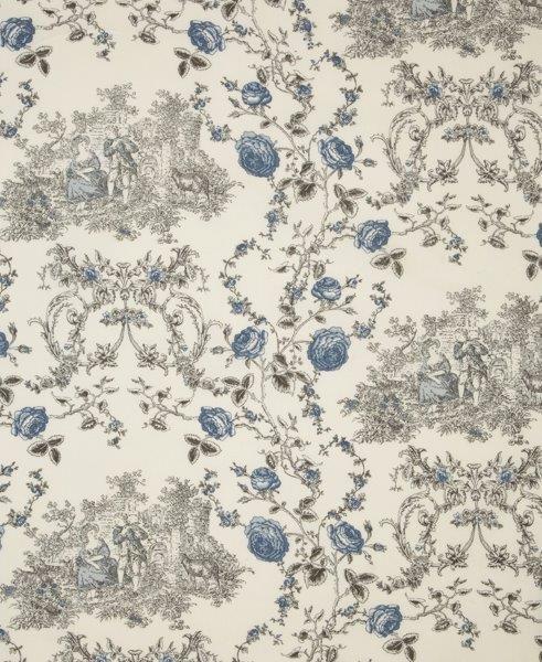 Ткань Princess ivoire, ширина 110см, в упаковке 1м, 100% хлопок, коллекция Les bleus /Небесно-голубой/. BPS.10531-105Ткань Princess ivoire, ширина 110см, в упаковке 1м,100% хлопок, коллекция Les bleus /Небесно-голубой/