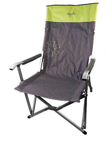 "Кресло складное Norfin ""Vaasa NF Alu"", цвет: серый, зеленый, 62 см х 56 см х 95 см NF-20212"