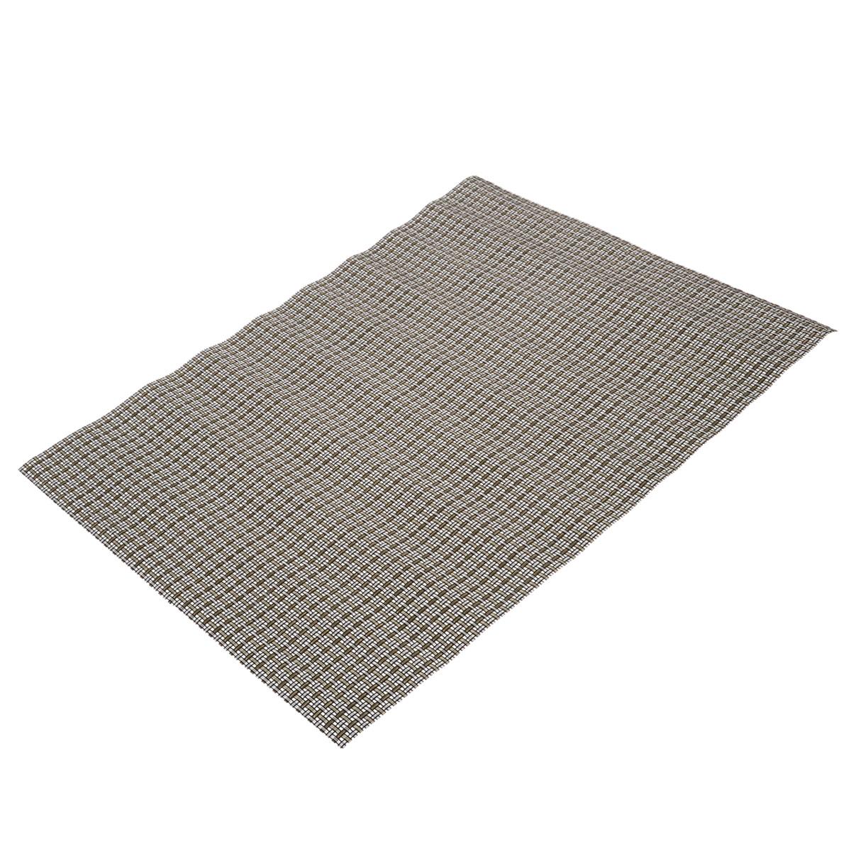 Подставка под горячее Bradex, цвет: серый, 45 см х 30 смTK 0095_серыйПрямоугольная подставка под горячее Bradex, выполненная из прочного ПВХ, не боится высоких температур и легко чистится от пятен и жира. Каждая хозяйка знает, что подставка под горячее - это незаменимый и очень полезный аксессуар на каждой кухне. Ваш стол будет не только украшен оригинальной подставкой, но и сбережен от воздействия высоких температур ваших кулинарных шедевров.