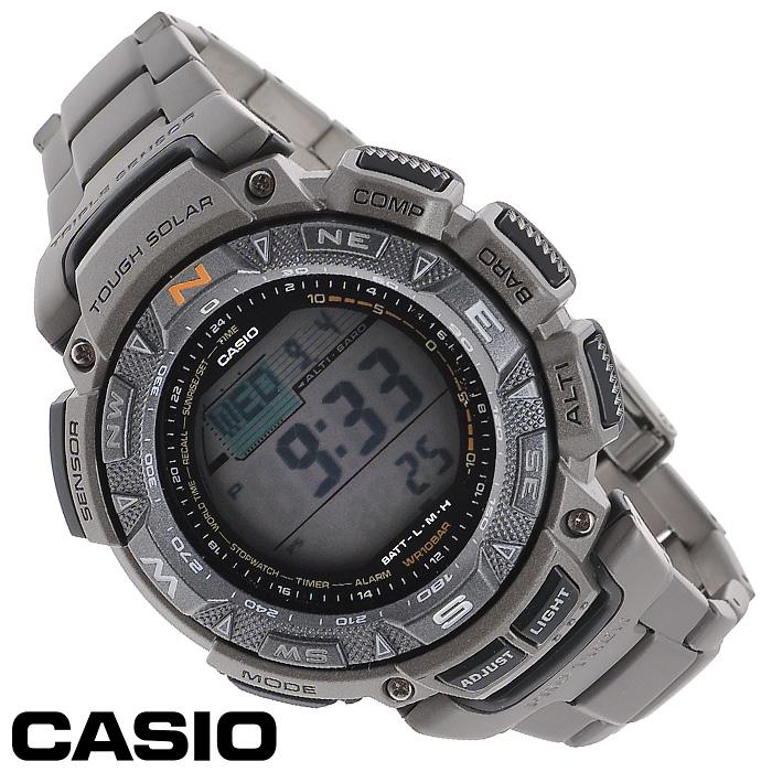 Наручные часы Casio PRG-240T-7EPRG-240T-7EМужские часы Casio PRG-240T.
