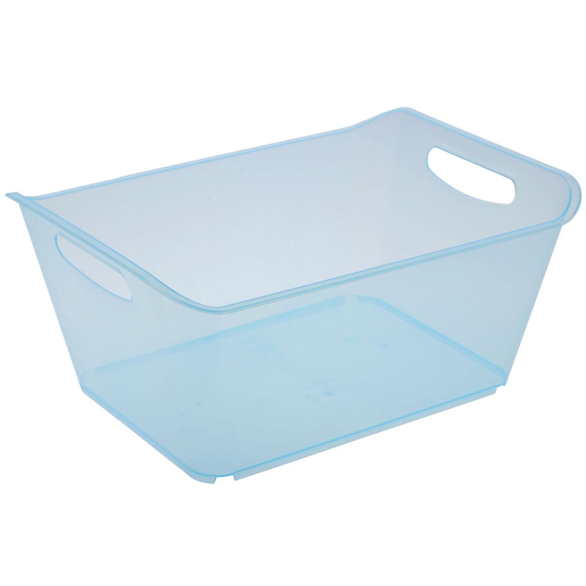Контейнер Gensini, цвет: голубой, 18 л3333_голубойКонтейнер Gensini выполнен из прочного пластика. Он предназначен для хранения различных мелких вещей в ванной, на кухне, даче или гараже, исключая возможность их потери. По бокам контейнера предусмотрены две удобные ручки для его переноски. Контейнер поможет хранить все в одном месте, а также защитить вещи от пыли, грязи и влаги. Объем: 18 л.