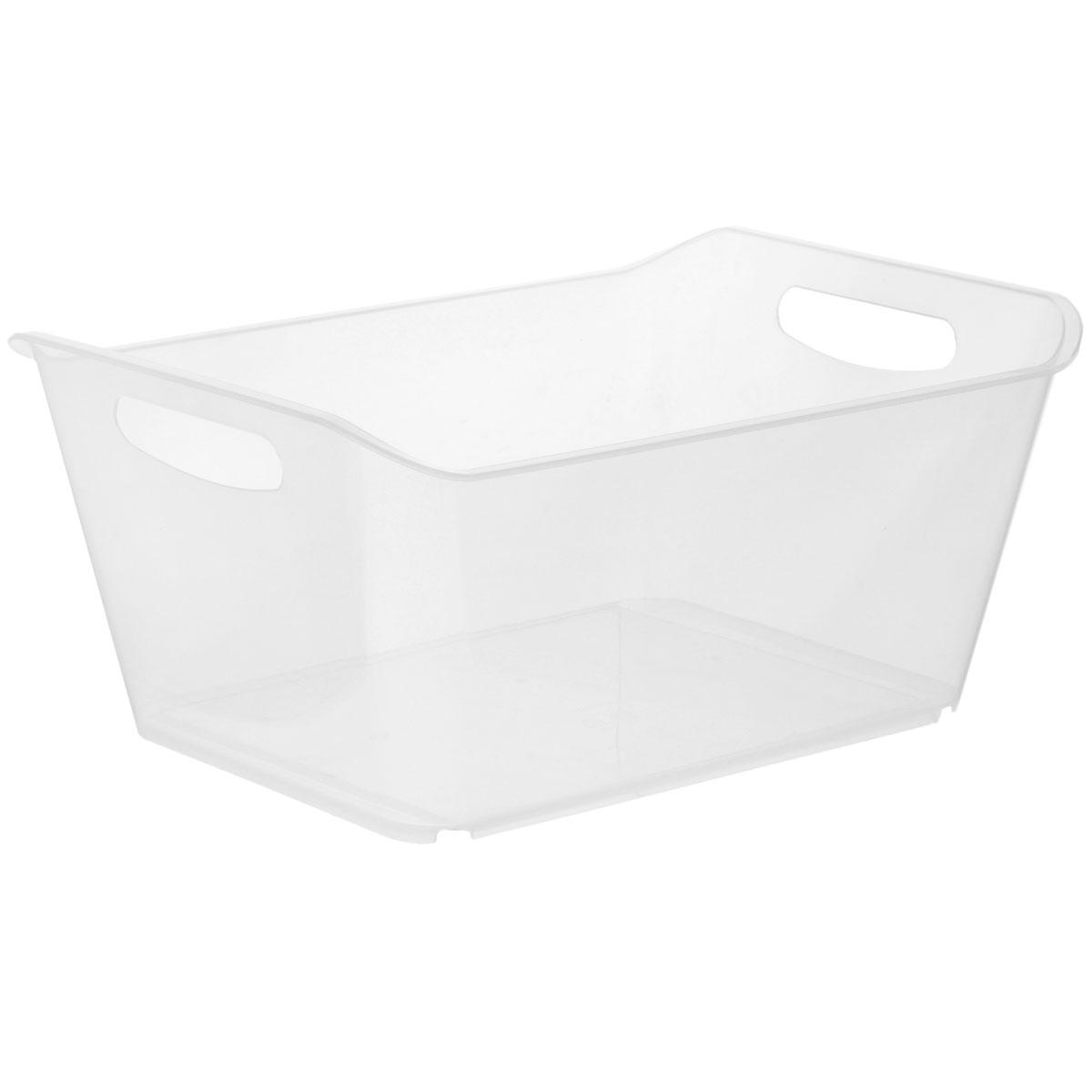 Контейнер Gensini, цвет: прозрачный, 18 л3333_прозрачныйКонтейнер Gensini выполнен из прочного пластика. Он предназначен для хранения различных мелких вещей в ванной, на кухне, даче или гараже, исключая возможность их потери. По бокам контейнера предусмотрены две удобные ручки для его переноски. Контейнер поможет хранить все в одном месте, а также защитить вещи от пыли, грязи и влаги. Объем: 18 л.