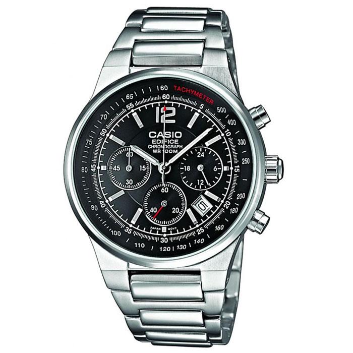 Наручные часы Casio EF-500D-1AVEFEF-500D-1AVEFМужские часы-хронограф Casio EF-500D с секундомером.