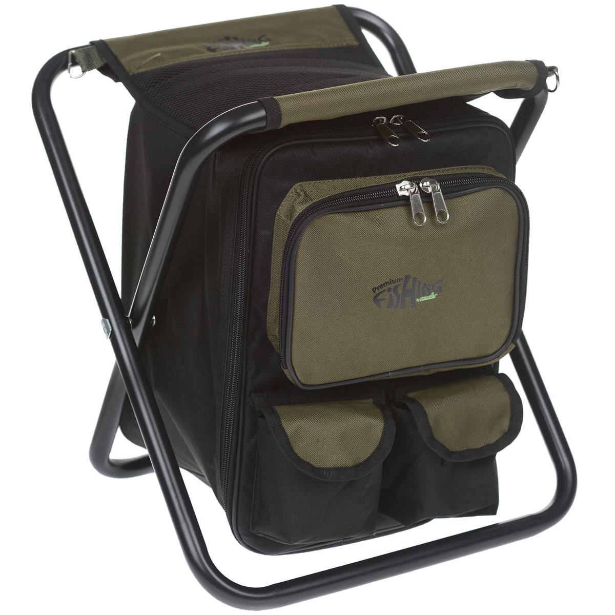 Стул-рюкзак Norfin Luton NF, цвет: хаки сумка norfin dry case 02 nf 40307