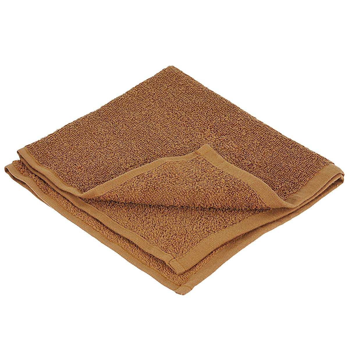 Полотенце махровое Osborn Textile, цвет: коричневый, 40 см х 40 смУзТ-МПБ-005-08-20В состав полотенца Osborn Textile входит только натуральное волокно - хлопок. Такое полотенце будет незаменимо в вашем быту. Оно создаст прекрасное настроение не только в ванной комнате, но и на кухне. Изделие прекрасно впитывает влагу и быстро сохнет. При соблюдении рекомендаций по уходу не линяет и не теряет форму даже после многократных стирок. Плотность: 400 г/м2.