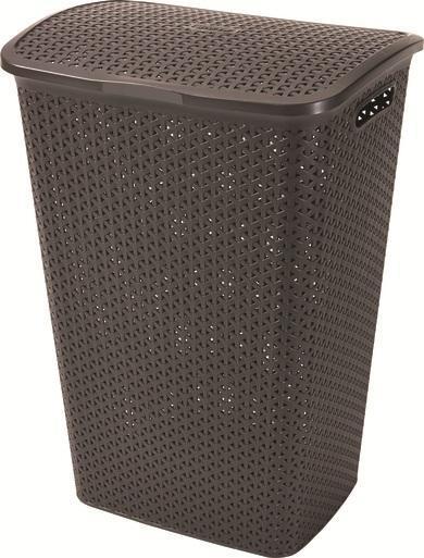 Корзина для белья Curver, цвет: темно-коричневый00713-210-00