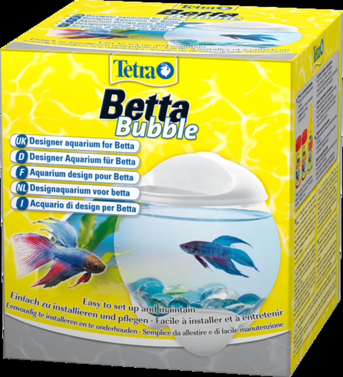Аквариум-шар для петушков Tetra Betta Bubble с освещением, цвет: белый, 1,8 л206724Дизайнерский аквариум на батарейках со светодиодным освещением, предназначенный для бойцовых рыб. Простая установка и техническое обслуживание. Эффективное и долговечное светодиодное освещение. Кнопка включения и выключения для легкого использования. Работает от батареек - для большей безопасности. Удобное отверстие для кормления. Объем: 1,8 л. Гарантия 2 года (не распространяется на освещение).