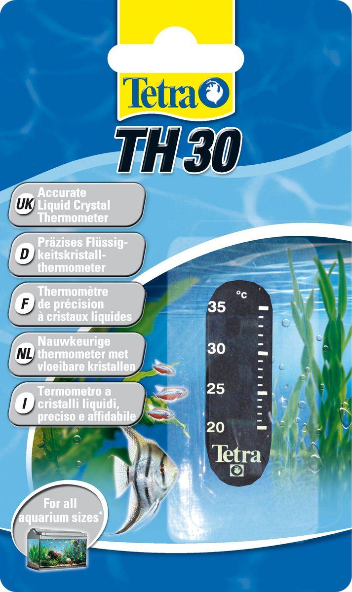 Термометр для аквариума Tetra TH30753693Точный жидкокристаллический термометр крепится на внешней стороне аквариумного стекла. Точно измеряет температуру воды в диапазоне 20-30°С. Легко считываемые показания прибора. Компактный, приятный дизайн.