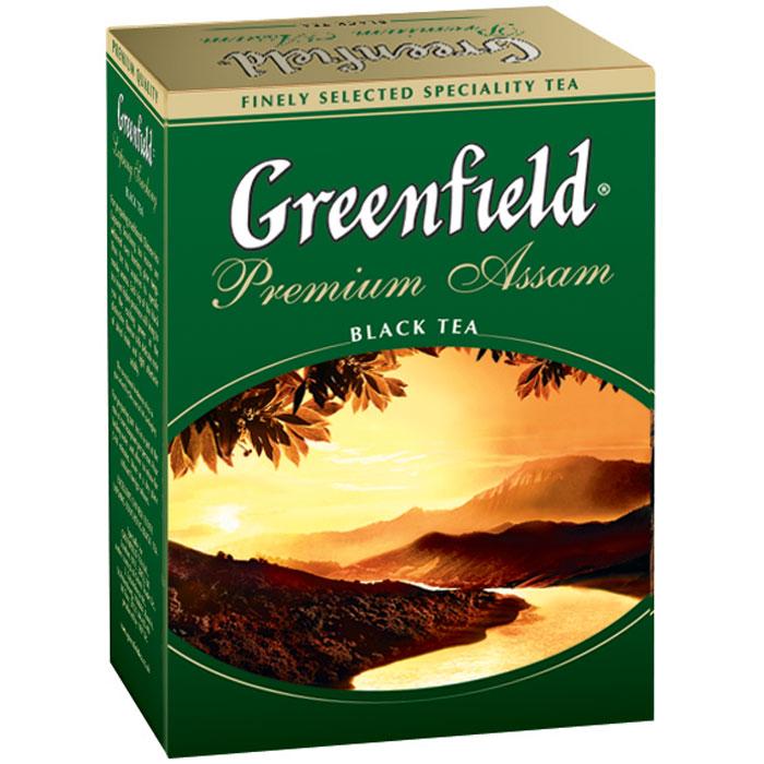 Greenfield Premium Assam черный листовой чай, 100 г1020-16Выращенный на щедрых землях Ассама, где раскинулись знаменитые чайные плантации, окруженные драгоценным кольцом Гималайских гор, Greenfield Premium Assam открывает терпкий, пряный вкус и яркий, свежий аромат. Сияющий темно-бордовый цвет Greenfield Premium Assam - отражение завершенности и гармонии этого чая.