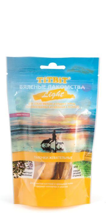 Лакомство для собак Titbit Light, вяленые палочки жевательные, 40 г0120710Палочки жевательные относятся к лакомствам линии Light. Рекомендованы для склонных к полноте и стерилизованных собак.Благодаря высокому содержанию коллагена и эластина, лакомство способствует развитию костной и хрящевой ткани собаки. Фитокомплекс из укропа и тимьяна улучшает пищеварение и способствует очищению организма от шлаков.Вкус: говядинаСостав: кожа говяжья, тимьян, укропУсловия хранения: Хранить при температуре от 12 до 22 гр. и относительной влажности не более 65 %. Открытую упаковку хранить не более 7 дней.Товар сертифицирован.