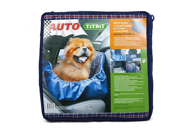 Автогамак для собак Titbit, с бортами, цвет: синий, 142 х 140 см8581Автогамак для собак Titbit изготовлен из прочного водостойкого материала с утеплителем внутри и дополнительными защитными боковыми бортами, фиксирующимися с помощью молний и липучек. Легко монтируется при помощи ремней на заднем сидении автомобиля, защищая его от загрязнений. Незаменим при транспортировке животного на дачу, в ветклинику, после прогулок на природе, также может служить лежаком или пледом. Подходит для любых типов автомобилей. Размер гамака: 142 х 140 см.