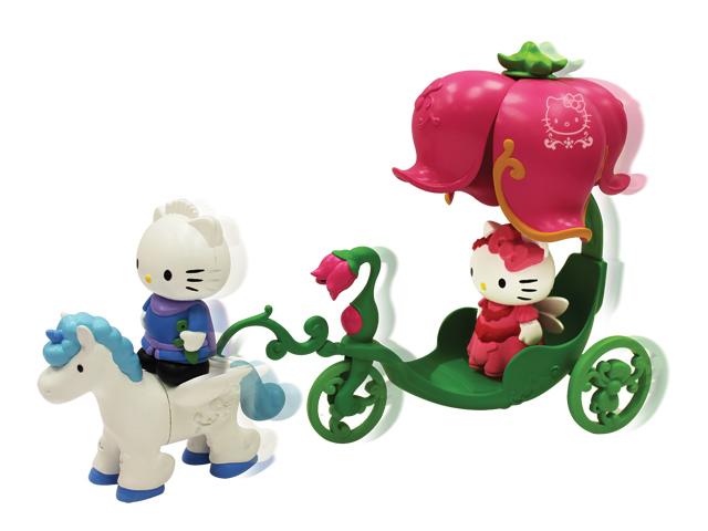 "Hello Kitty Набор ""Карета с лошадью"" 65029"