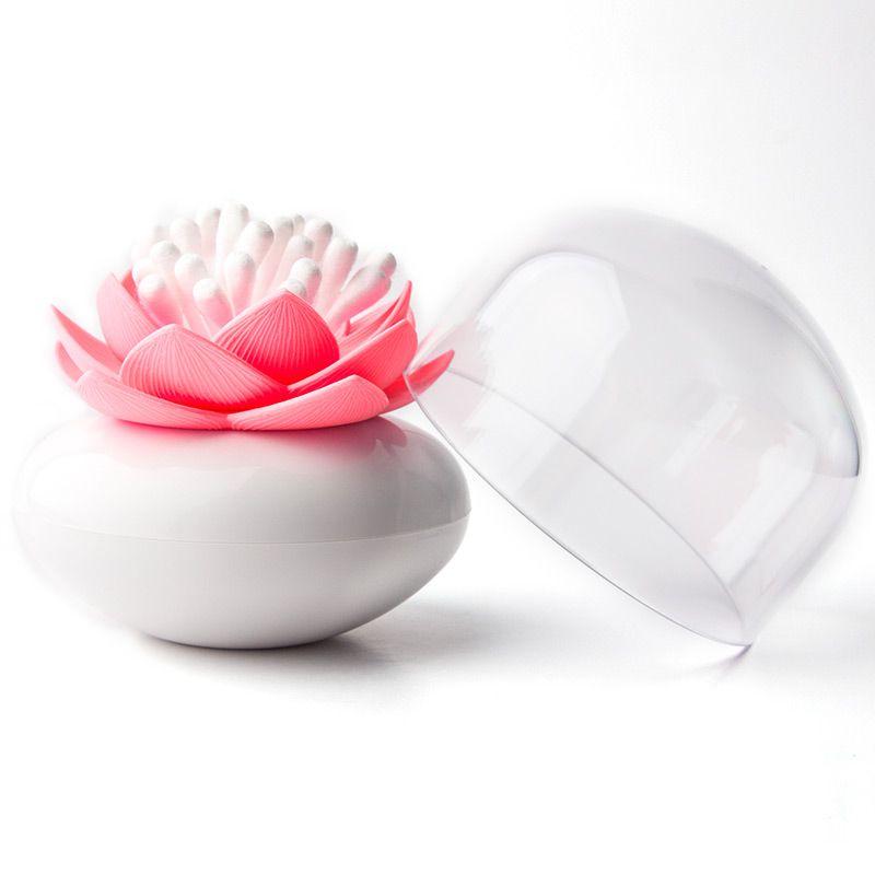 Контейнер для хранения ватных палочек Lotus белый/розовыйQL10157-WH-PKКонтейнер для хранения ватных палочек Lotus помимо своих основных функций, будет прекрасным элементом декора для Вашей спальни или ванной комнаты. Материал: пластик; цвет: розовый