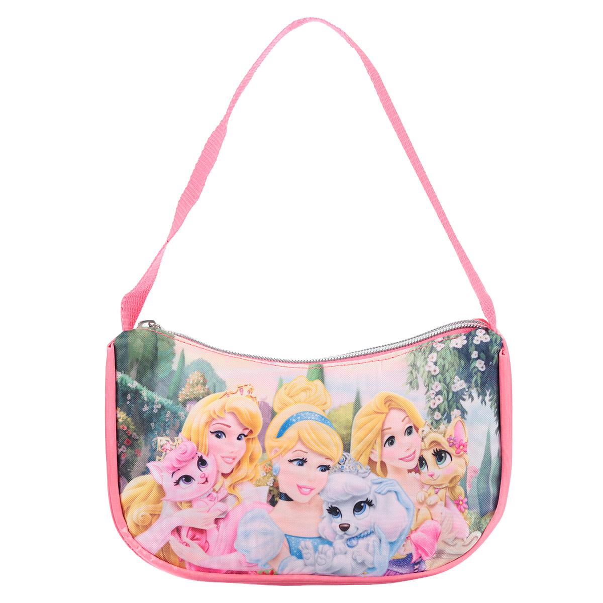 """Disney Princess Сумочка детская """"Princess"""", цвет: розовый. PRCB-UT4-4018"""