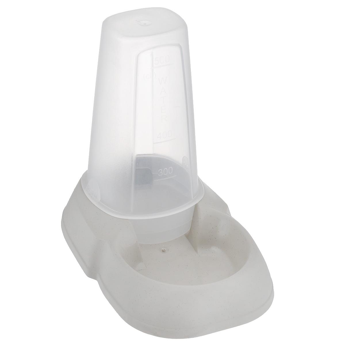 Миска для животных MPS Maya Dispenser, с контейнером, цвет: бежевый, 500 млS10050100_бежевыйМиска MPS Maya Dispenser, изготовленная из пластика, не впитывает посторонние запахи. Подходит как для кошек, так и для собак, хорьков, кроликов, морских свинок. Особенно удобна такая миска, если в доме содержится несколько животных. Подходит как для корма, так и для воды. На дне имеются противоскользящие резиновые ножки. Специальный прозрачный контейнер большой вместимости позволяет оставить достаточное количество воды или корма на длительное время. Объем контейнера: 500 мл. Размер миски: 12 см х 18 см х 4 см. Размер контейнера: 7,5 см х 7,5 см х 13 см. Товар сертифицирован.