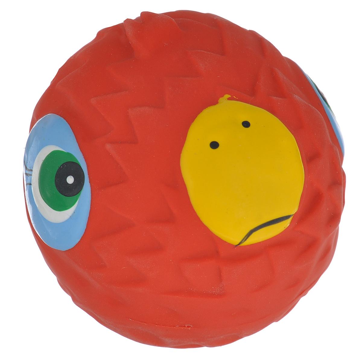 Игрушка для собак Beeztees Мяч с мордочкой, цвет: красный0120710Прочная игрушка Beeztees Мяч с мордочкой изготовлена из натурального латекса сиспользованием только безопасных, не токсичных красителей. Великолепно подходит для игры и массажа десен вашей собаки. Игрушка не позволит скучать вашему питомцу ни дома, ни на улице.Диаметр: 7 см.