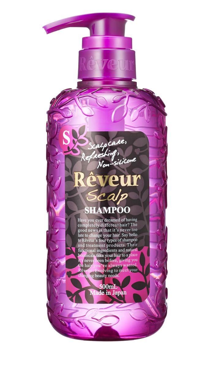 Reveur Шампунь Scalp Уход за корнями волос 500 млFS-00897Шампунь без силикона бережно очищает кожу головы и волосы, питая луковицы волос. 15 специально подобранных природных компонентов проникают вглубь кожи, стимулируя рост волос, восстанавливают кутикулу волоса, делая его вновь гладким и ровным. Легкая текстура шампуня позволяет надолго сохранять объем и укладку. Свежий воздушный аромат цитрусов и луговых трав.