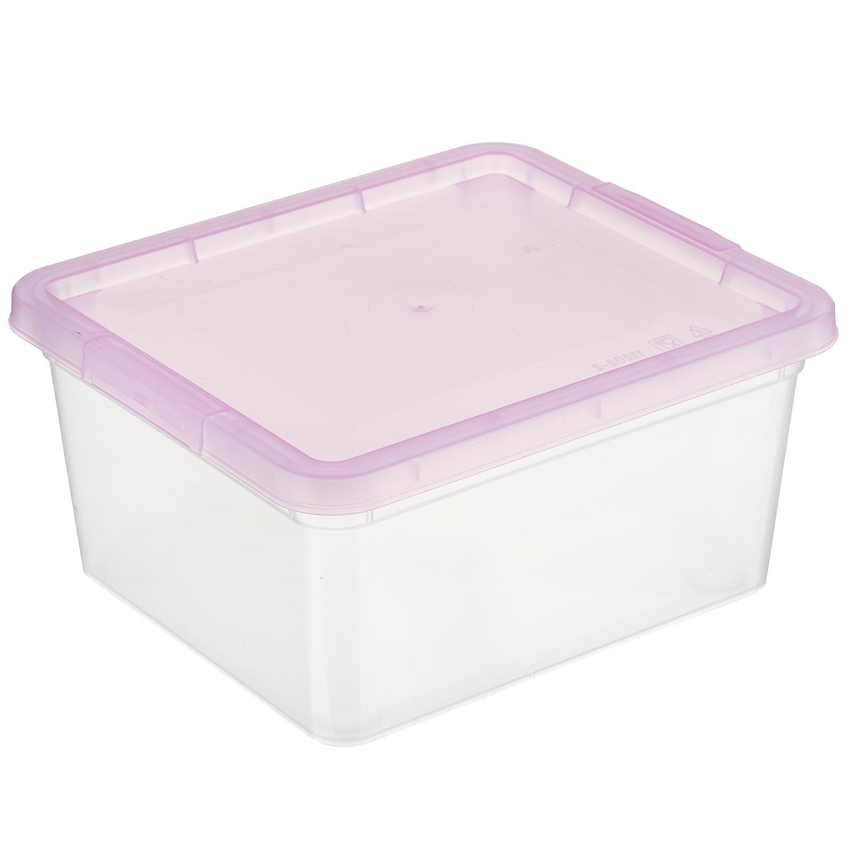 Коробка для мелочей Полимербыт, цвет: розовый, 1,9 лС510 розовыйКоробка для мелочей Полимербыт изготовлена из прочного пластика. Стенки изделия прозрачные, что позволяет видеть содержимое. Цветная полупрозрачная крышка плотно закрывается и легко открывается. Коробка идеально подходит для хранения различных мелких бытовых предметов, таких как канцелярские принадлежности, аксессуары для рукоделия и т.д. Такая коробка сохранит все мелкие предметы в одном месте и поможет поддерживать в доме порядок.