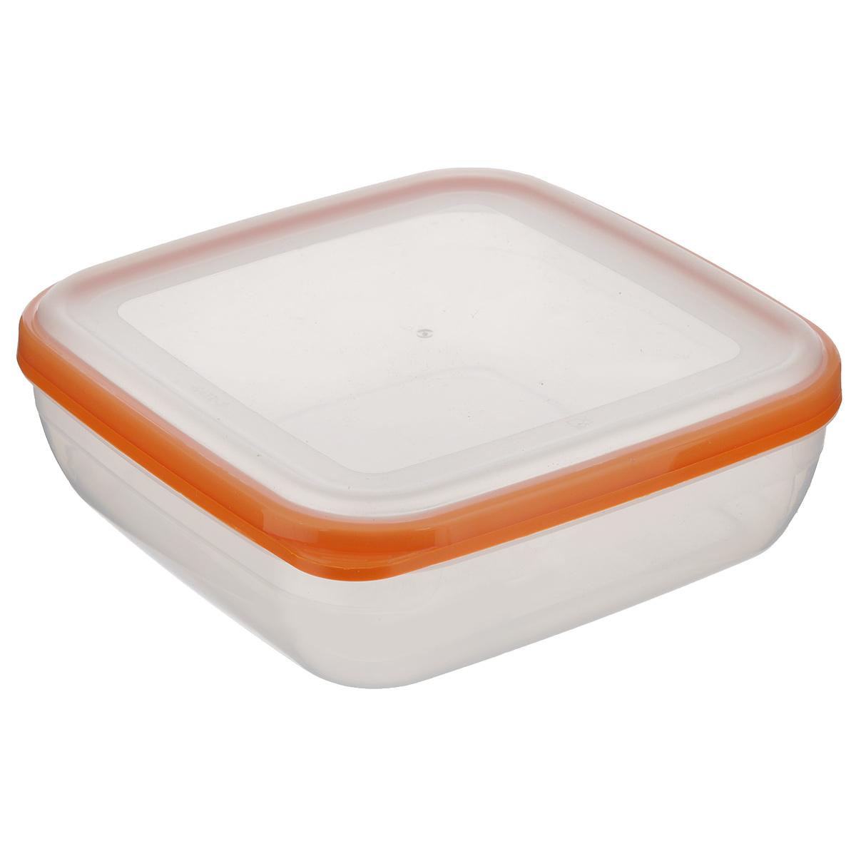 Контейнер для СВЧ Полимербыт Премиум, цвет: оранжевый, 1,7 лС566 оранжевыйКвадратный контейнер для СВЧ Полимербыт Премиум изготовлен из высококачественного прочного пластика, устойчивого к высоким температурам (до +110°С). Крышка плотно и герметично закрывается, дольше сохраняя продукты свежими и вкусными. Контейнер идеально подходит для хранения пищи, его удобно брать с собой на работу, учебу, пикник или просто использовать для хранения продуктов в холодильнике. Подходит для разогрева пищи в микроволновой печи и для заморозки в морозильной камере (при минимальной температуре -40°С). Можно мыть в посудомоечной машине.