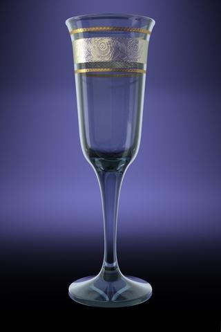Набор 6 бокалов Юнона с рисунком Первоцвет 210 млVT-1520(SR)Набор 6 бокалов Юнона с рисунком Первоцвет 210 мл стекло