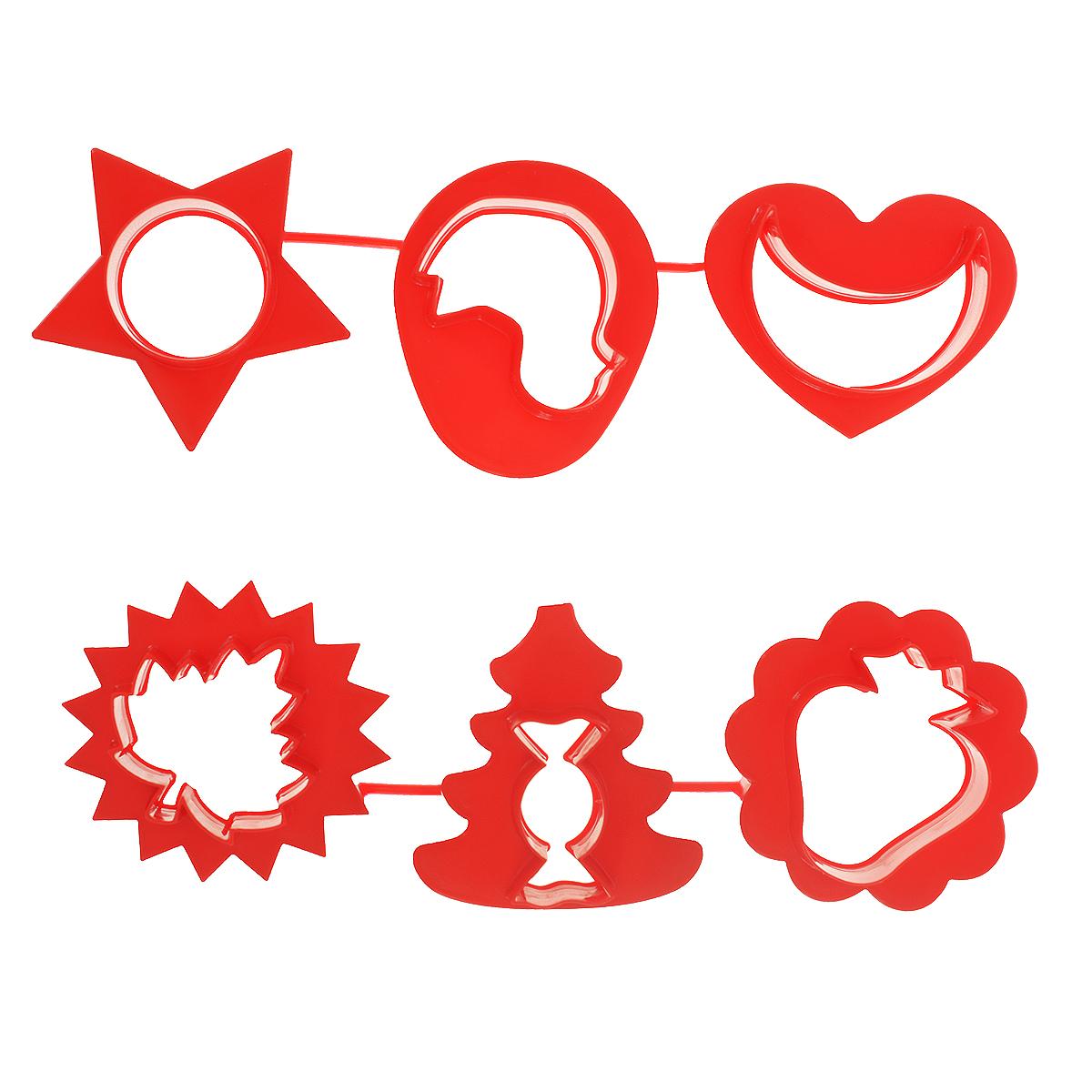Формочки для лепки и моделирования Луч, цвет: красный, 6 шт22С 1420-08 красныйФормочки для лепки и моделирования Луч предназначены для моделирования и лепки из пластилина, мягкого воска, глины. При производстве формочек использованы полимеры, для которых разрешен контакт с пищевыми продуктами, поэтому их можно использовать так же в кулинарии. С помощью таких формочек вы легко создадите объемные фигуры.
