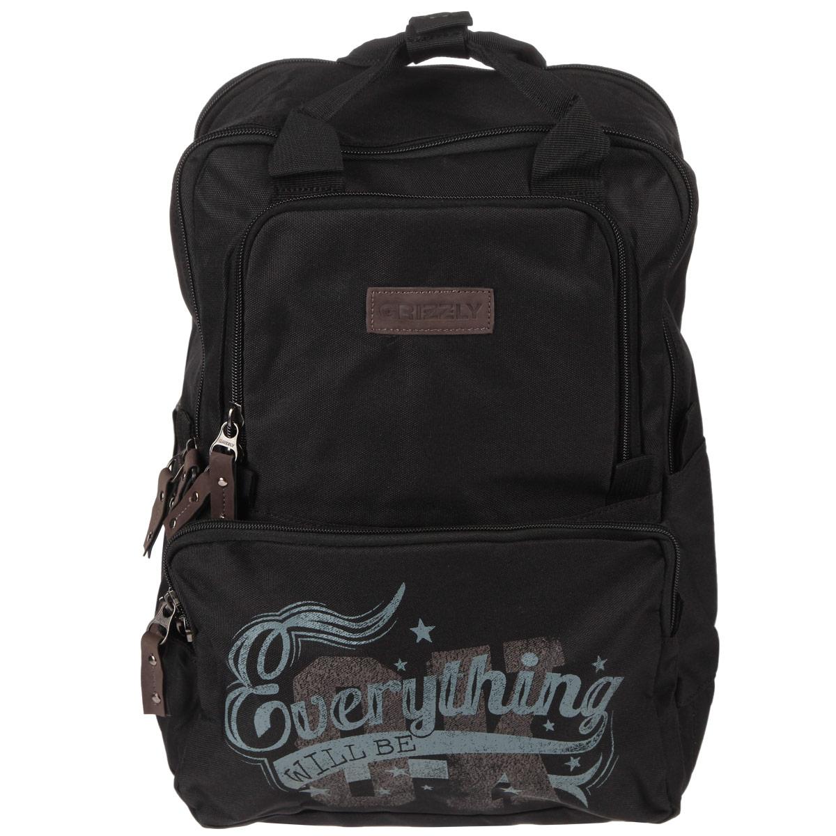 Школьный ранец Grizzly, цвет: салатовый, черный. RU-513-1/272523WDМолодежный рюкзак с двумя отделениями,одно из которых под ноутбук,закрывающихся на молнию.На передней стенке два объемных кармана,в одном из которых имеется карман-органайзер.Рюкзак также имеет внутренний карман для документов,укрепленные дно,лямки и спинку,две ручки для переноски,скрепляемые кнопкой.