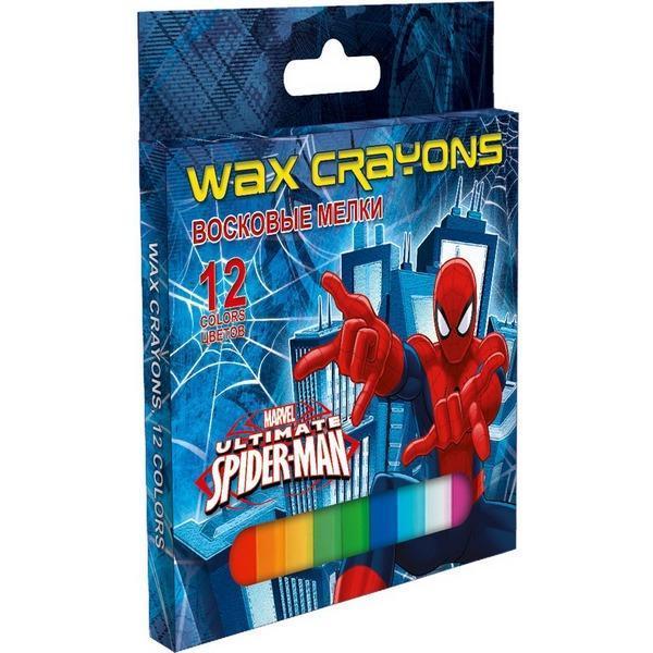 Восковые мелки, 12 цветов Spider-man ClassicSMCB-US1-2012B